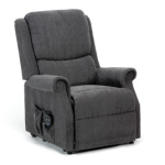 Charcoal Riser Recliner Chairs Stoke 1