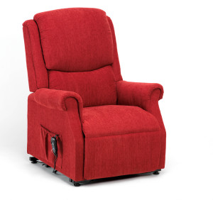 Red Riser Recliner Chairs